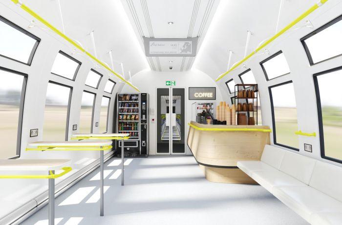 Презентован концепт высокоскоростного поезда для Rail Baltica (фото)