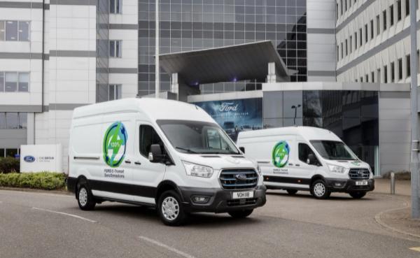 В Европе стартуют потребительские тесты электрических Ford E-Transit (фото)