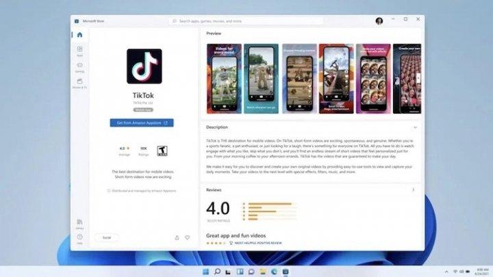Windows 11 сможет запускать Android-приложения — они будут доступны прямо в Microsoft Store