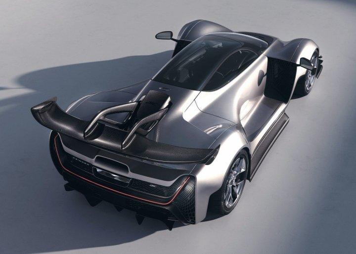 Американская компания Czinger представила серийную версию гиперкара 21C (фото, видео)