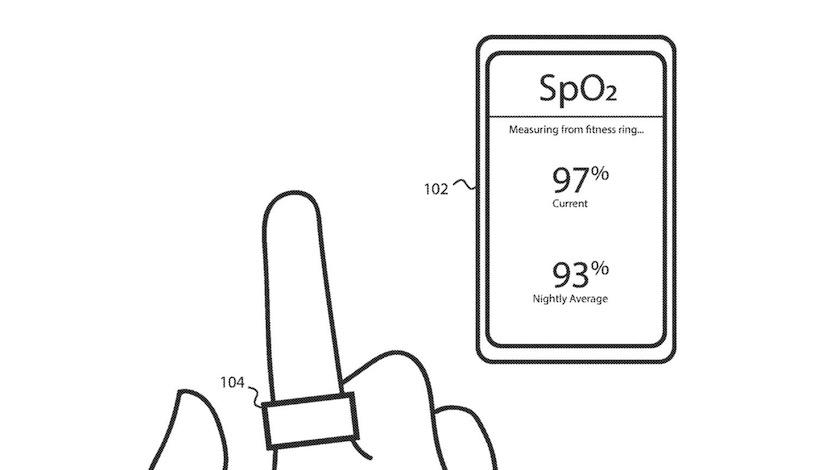 Fitbit разработала умное кольцо с тонометром и NFC