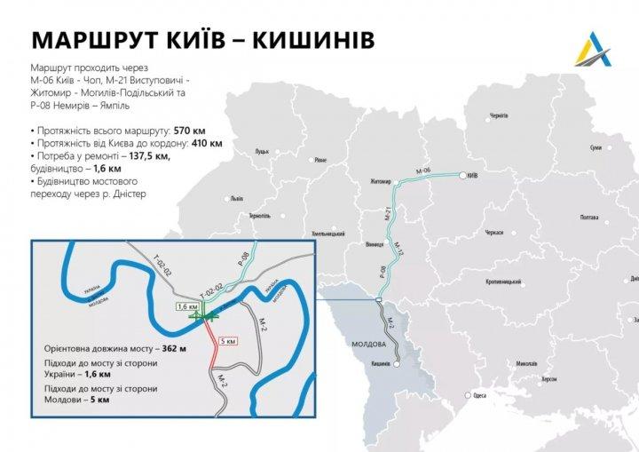 Дорога президентов. На трассе в Молдову развернули «Большую стройку»
