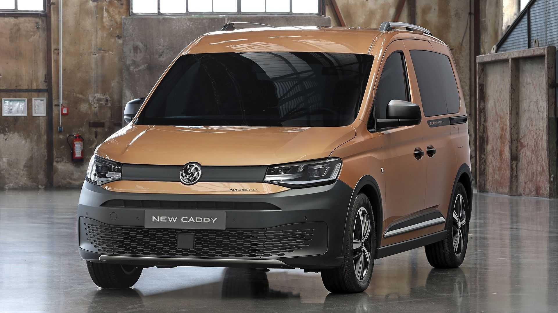 Volkswagen начал продавать туристический Caddy PanAmericana (фото)