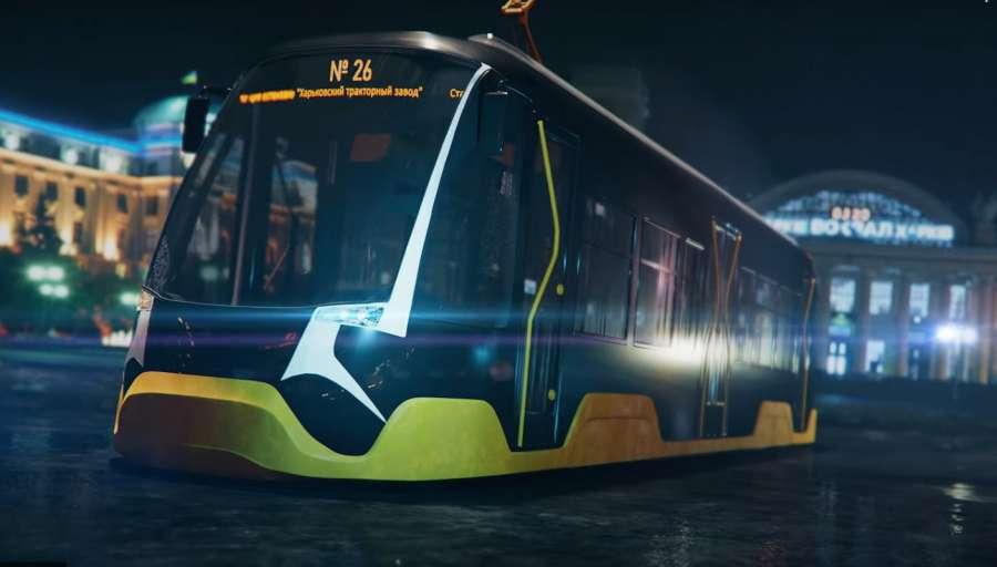 В Харькове представят трамвай собственного производства