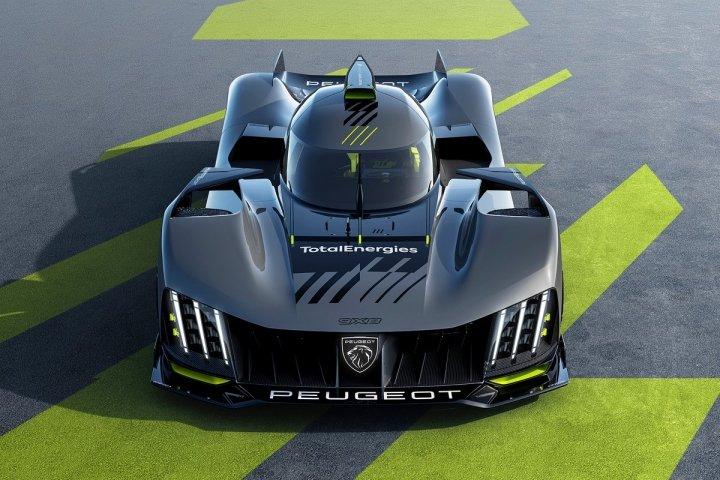 Первый суперкар Peugeot показали на официальных изображениях (фото)