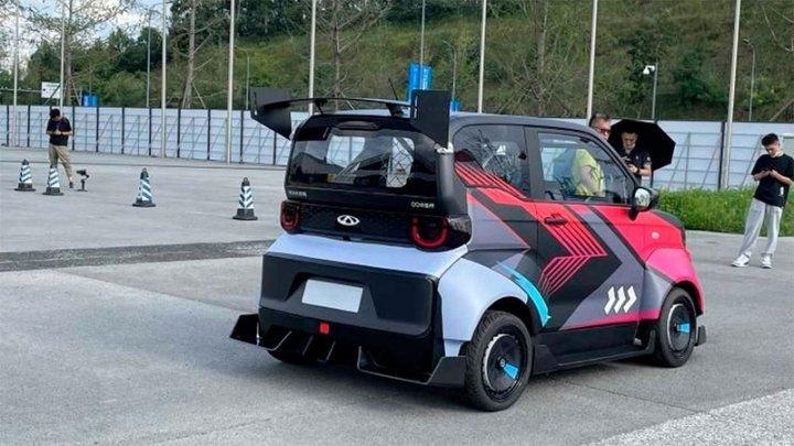Скорость 100 км/ч и запас хода до 200 км: представлен электромобиль Chery QQ Sport