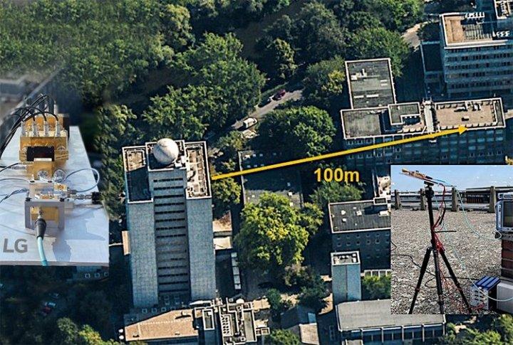 LG показала передачу данных в сети 6G на расстояние 100 метров