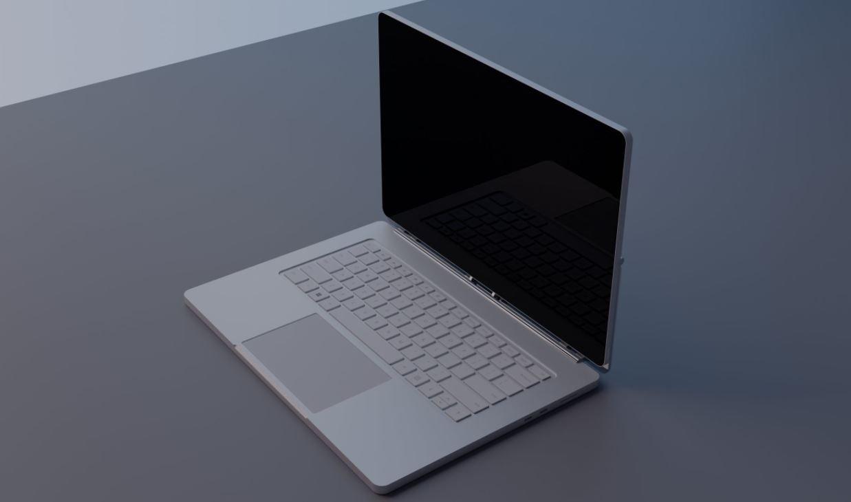 Microsoft запатентовала ноутбук с «парящим» экраном (фото, видео)