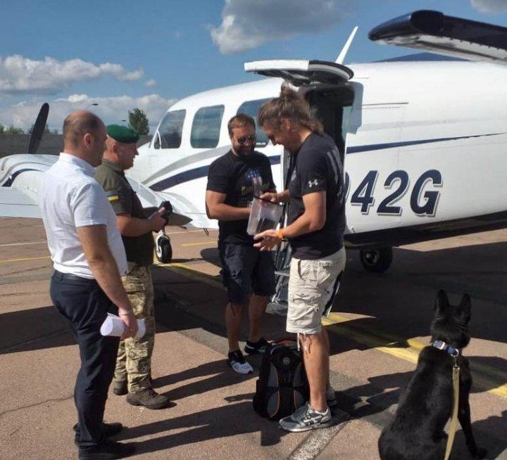 Аэропорт «Житомир» принял первый международный рейс