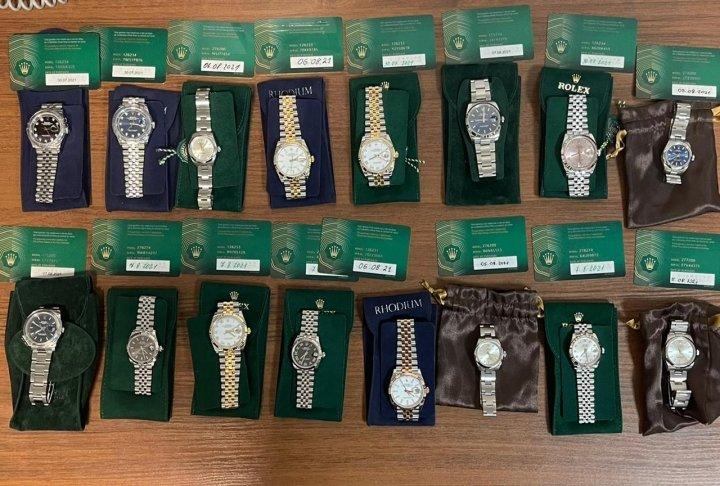 В аэропорту «Киев» изъяли партию часов Rolex на €100 тысяч