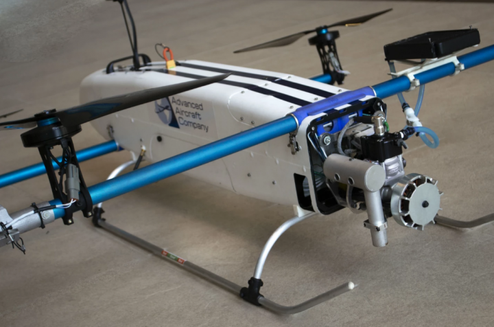 3,5 часа в воздухе: в США разработали гибридный дрон (фото, видео)