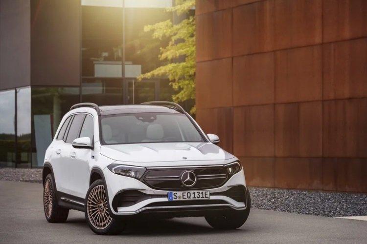 Mercedes-Benz представила электрический полноприводный кроссовер EQB
