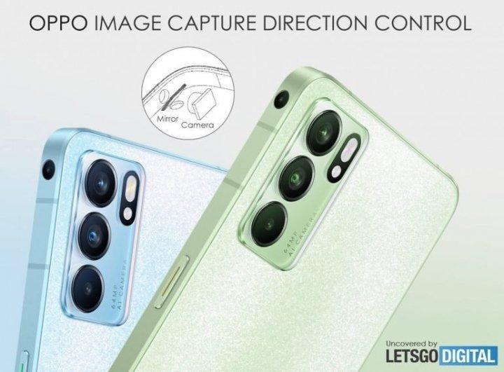 В Oppo планируют разместить камеру на боковой грани смартфона