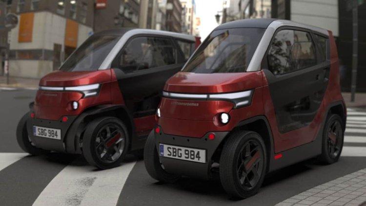 Представили электромобиль, который может уменьшаться на парковке (фото)