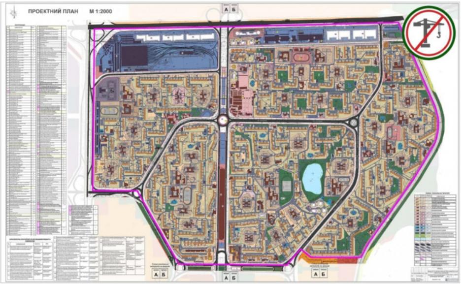 Киевсовет принял план тотальной застройки Оболони (карта)