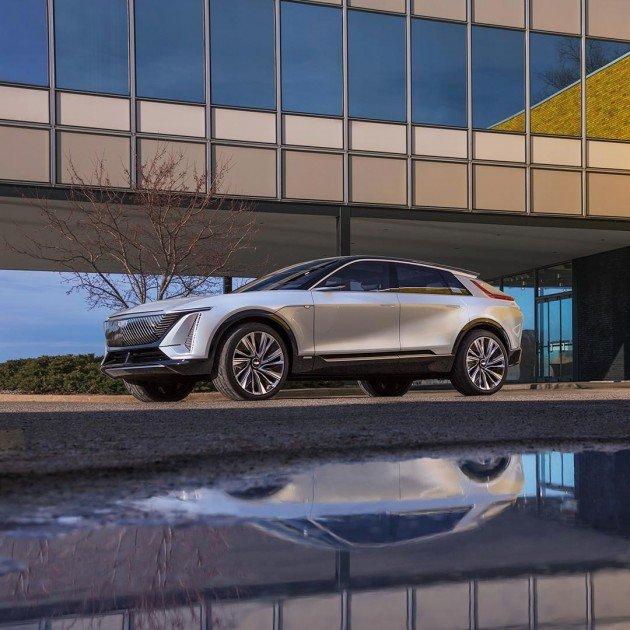 Первые серийные электромобили Lyriq марки Cadillac раскупили менее чем за 20 минут (фото)