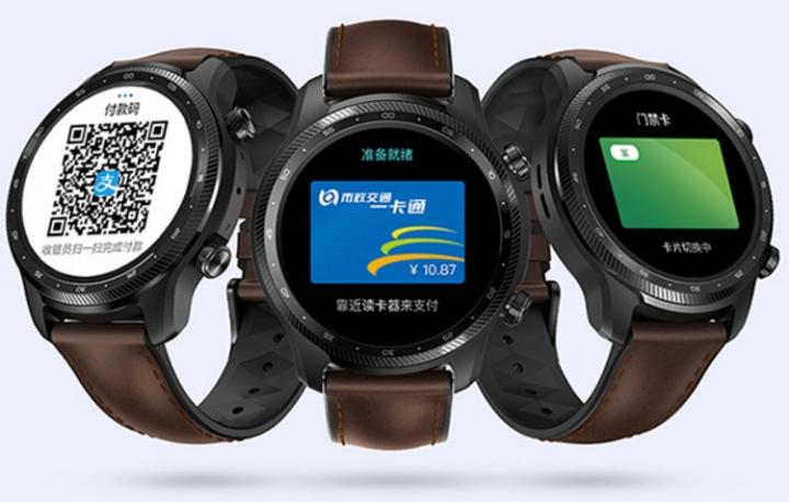 Вышли смарт-часы TicWatch Pro X с двумя дисплеями